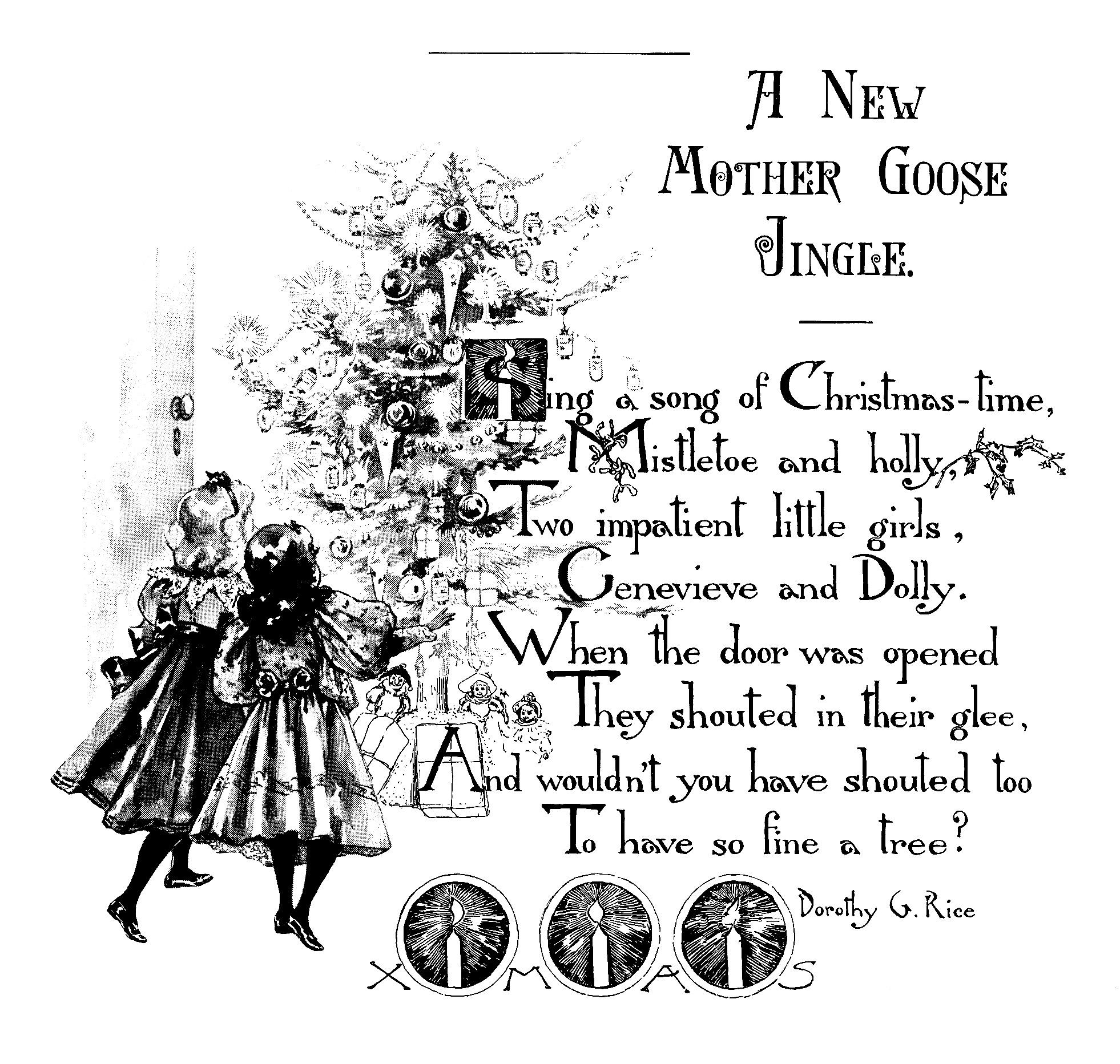 A Vintage Christmas Poem