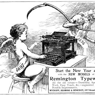 Remington Typewriter Advertisement
