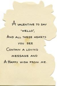 free vintage retro clip art valentine verse