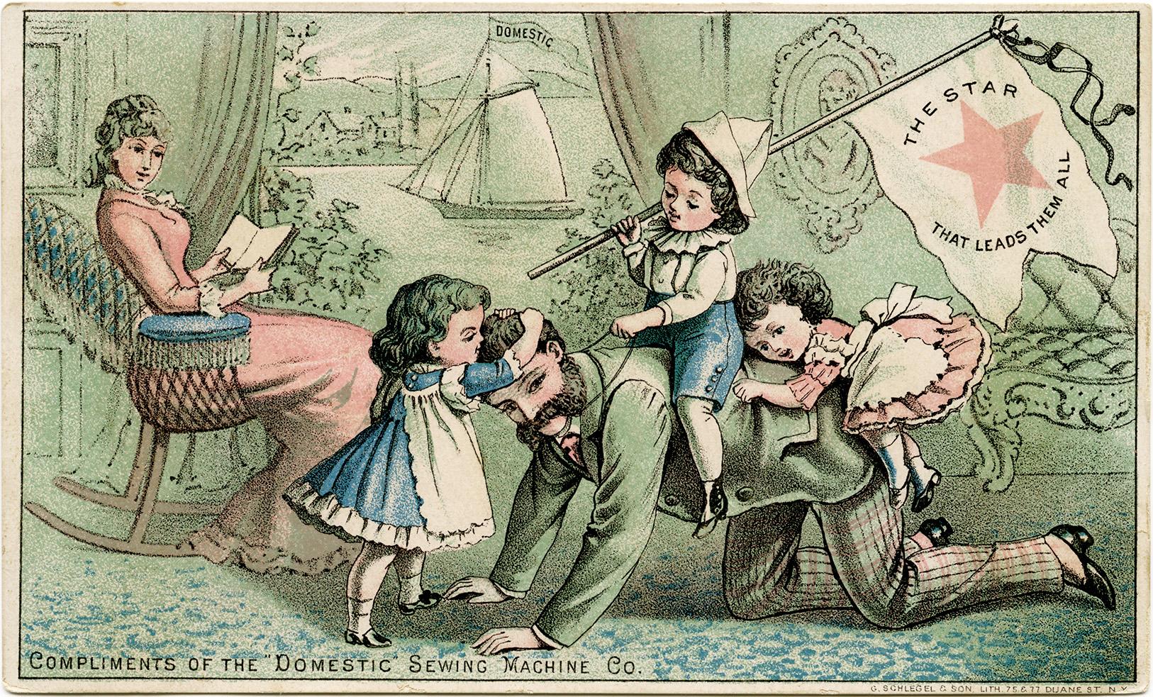 Victorian Family Free Vintage Clip Art Old Design Shop Blog