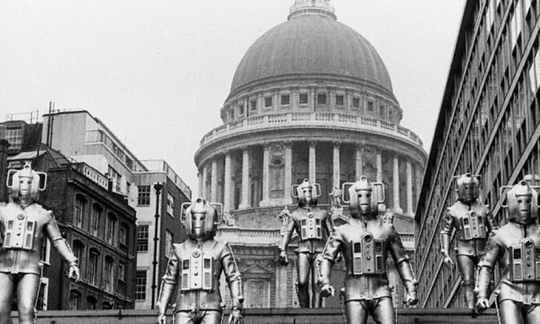 "Cybermen are experimented on, to release emotions; as a form of control. In ""Invasion"", 1968."