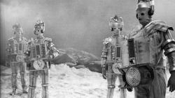 """Cybermen's """"box-y"""" first appearance has a lasting effect on the ailing First Doctor, in """"The Tenth Planet"""" - 1966."""