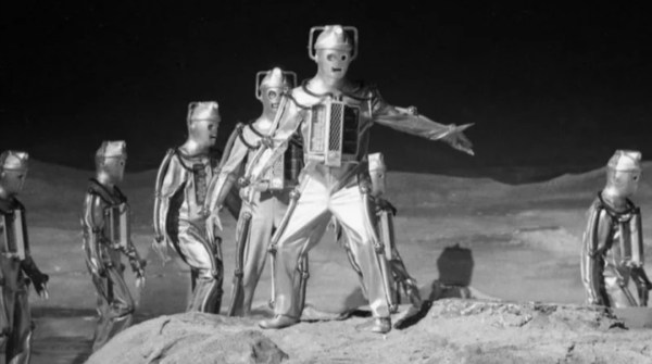 """Eireely effecting infiltration tale, set on the moon; in """"The Moonbase"""" - 1967."""