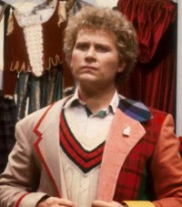 twin dillema sixth doctors outfit