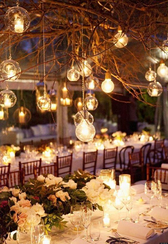winter weddings decor