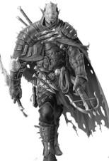 Half-orc Ranger