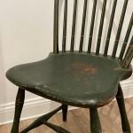 green windsor side chair