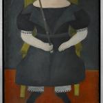American folk portrait of a boy