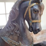 antique Dentzel carousel horse