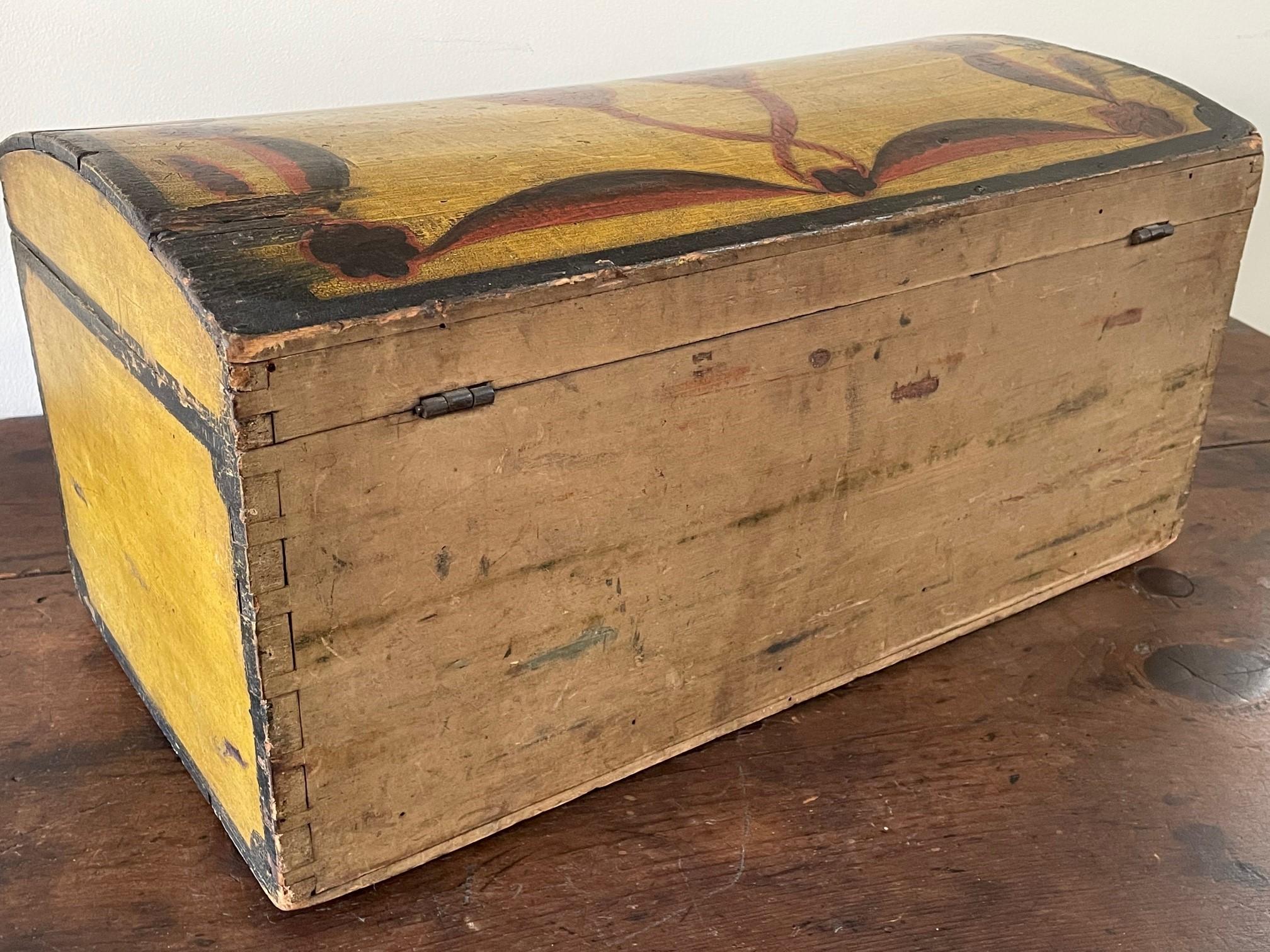 American decorated dometop box rel=