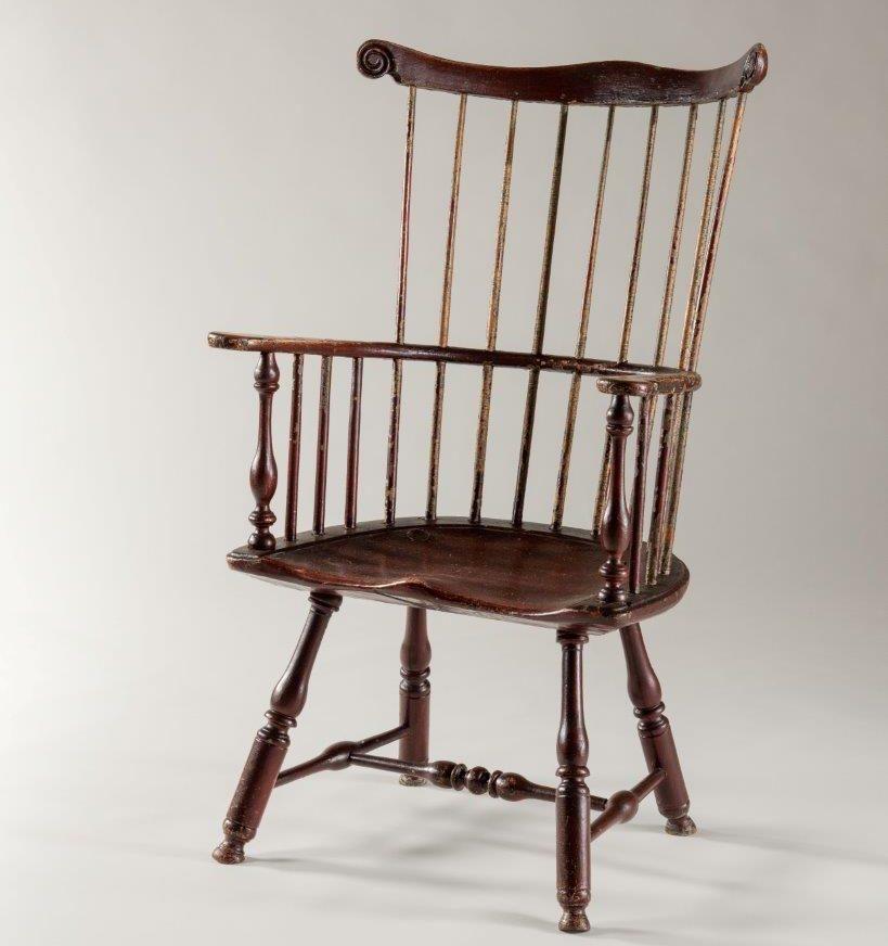 comb-back windsor armchair rel=