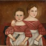american folk portrait sisters