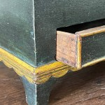 american painted dressing box