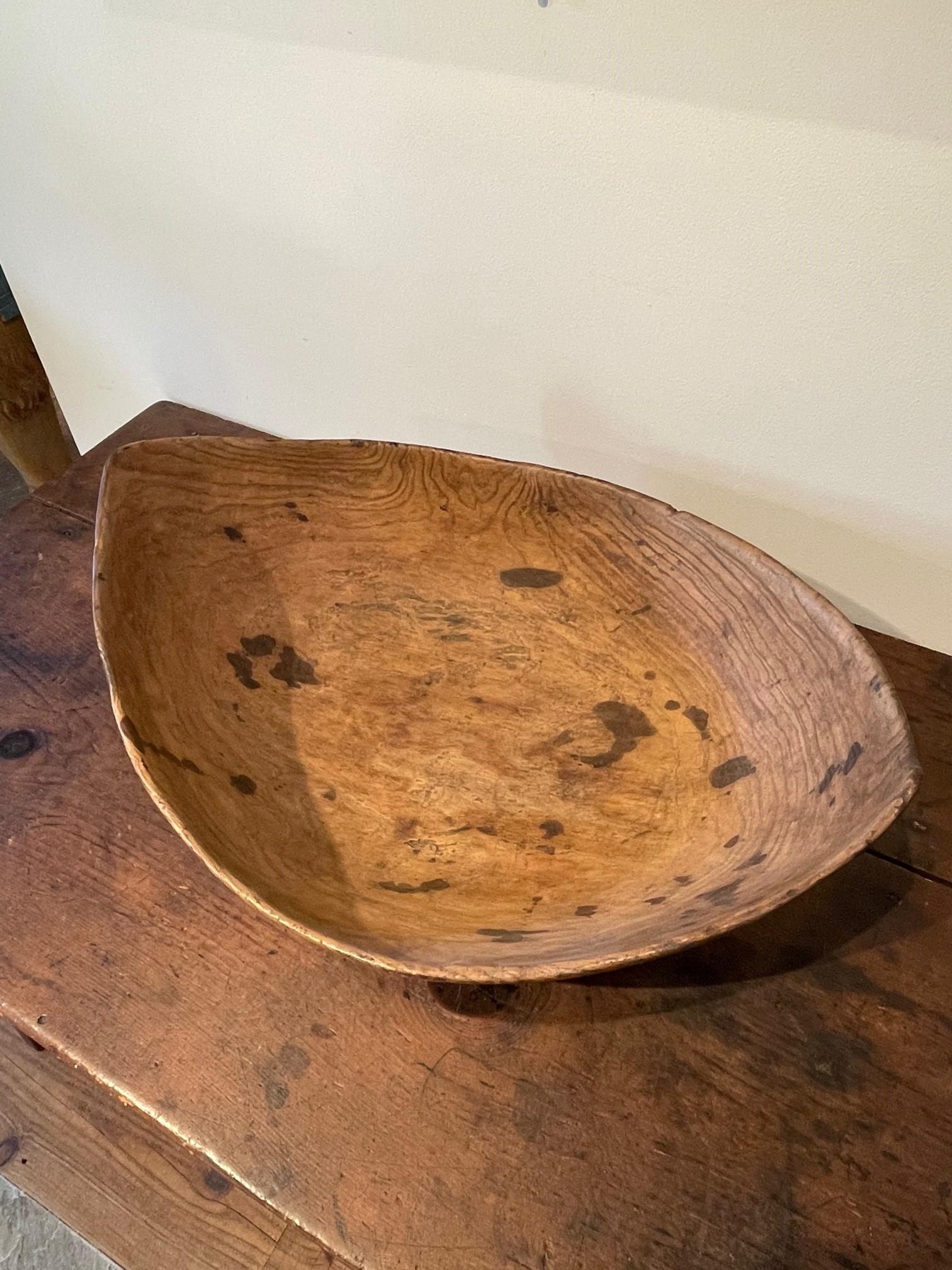 native american burlwood bowl rel=
