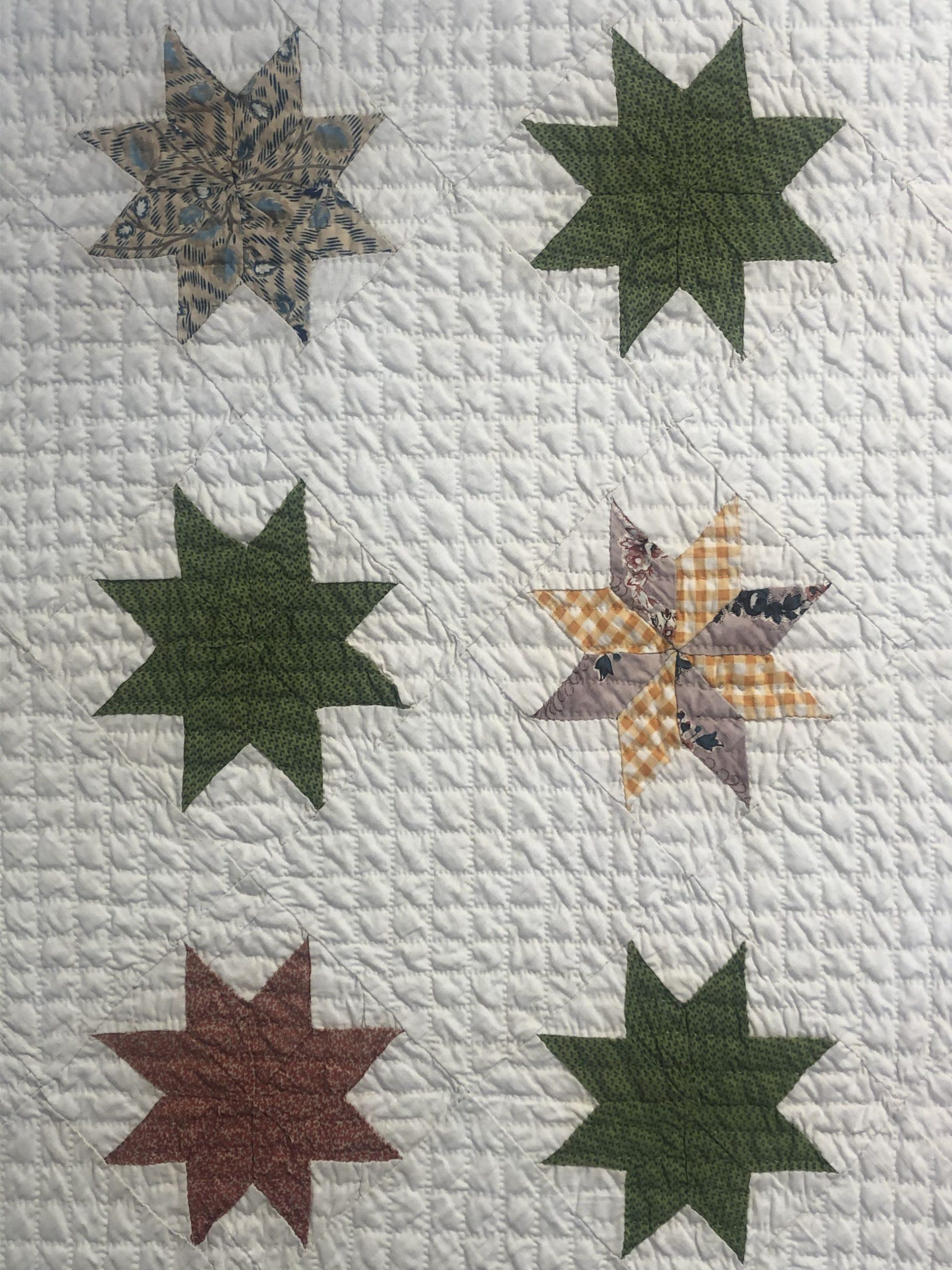 antique pennsylvania star quilt rel=