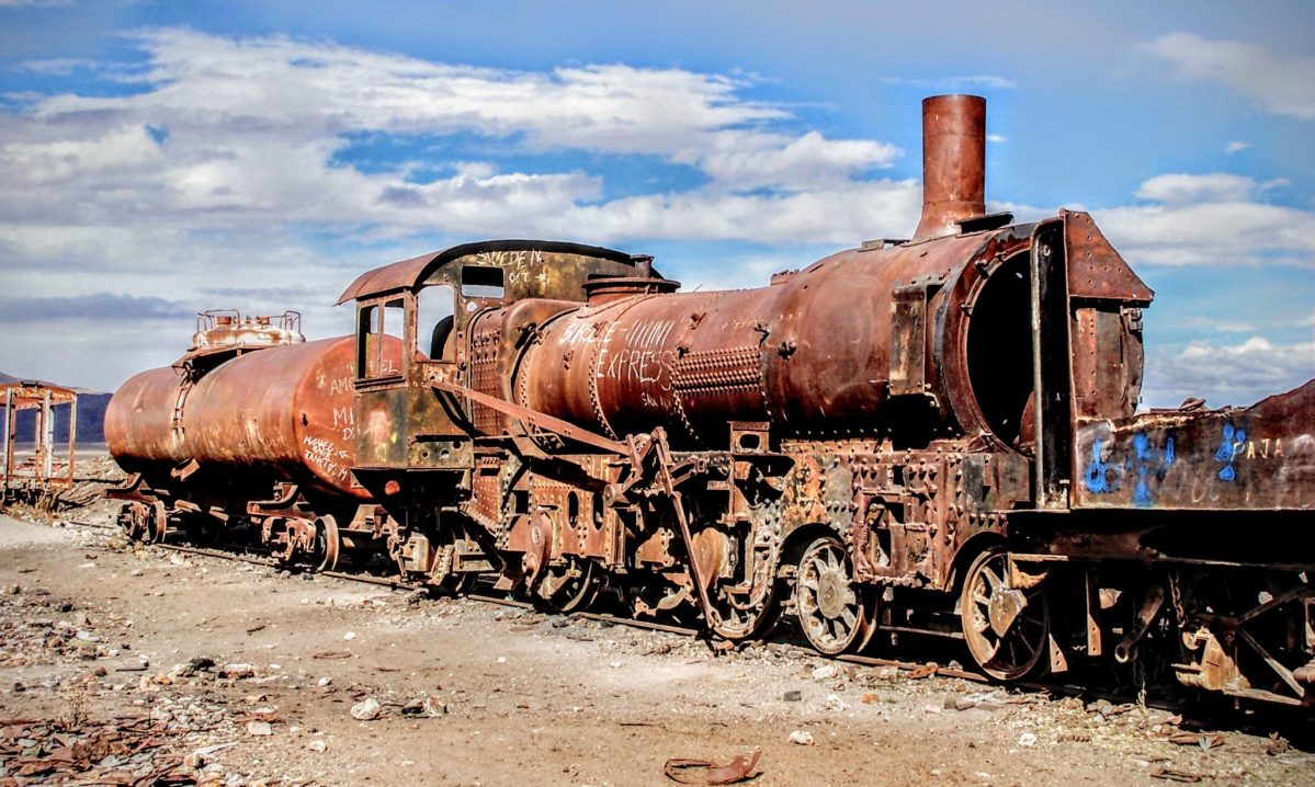 Bolivia's Train Graveyard
