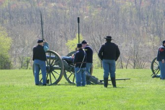 Loading the cannon
