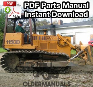 Case 1150D, 1155D Crawler Dozer Parts Manual