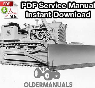 Case 800, 1000 Crawler Dozer Service Manual