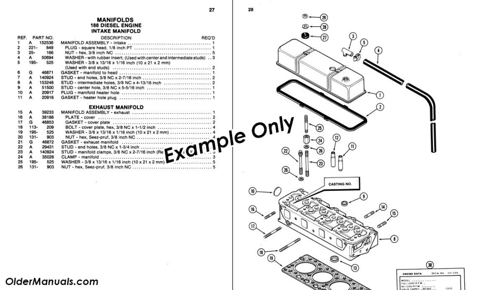 Parts Catalog Example - OlderManuals