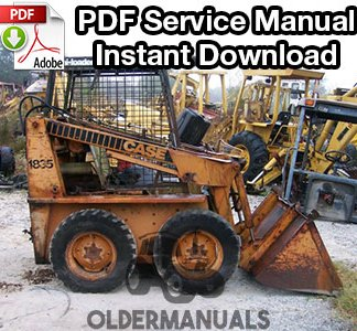 Case 1835 Skid Steer Service Manual