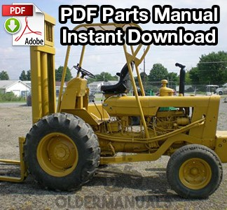 Case 530 CK Forklift Parts Manual