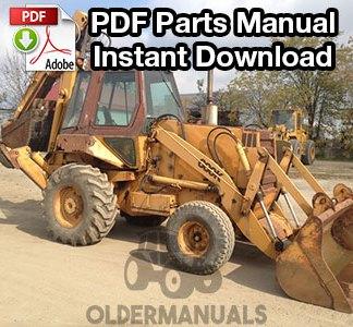 Case 680K Tractor Loader Backhoe Parts Manual