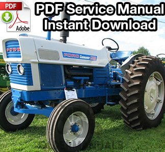 Ford Commander 6000 Tractor Service Manual