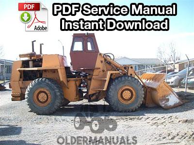 Case W26 Wheel Loader Service Manual