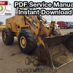 Case W26B Wheel Loader Service Manual