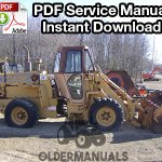 Case W11 Wheel Loader Service Manual
