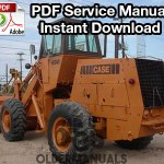 Case W24B Wheel Loader Service Manual