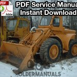 Case W8B, W9B, W10B Wheel Loader Service Manual