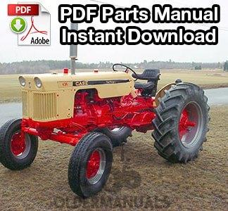 Case 440, 441, 430 Tractor Parts Manual