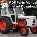 David Brown 990, 995, 996 Tractor Parts Manual (S/N 11070001 and Up)