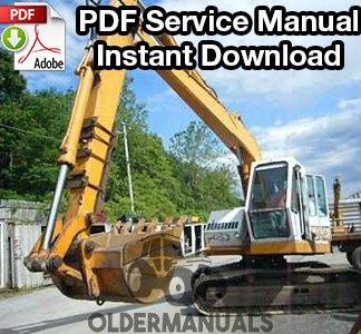 Drott 35D Excavator Service Manual