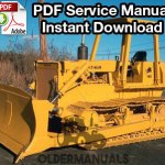 fiat allis b motor grader service manual complete fiat allis 14c crawler dozer service manual 8205 engine