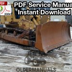 fiat allis fdb crawler dozer service manual com fiat allis fd30b crawler dozer service manual