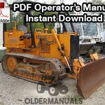 Case 450B, 455B Crawler Dozer Operator's Manual