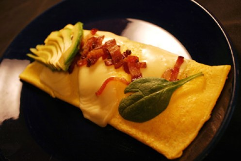 bacon avocado omelet post falls idaho