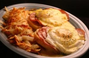 Ham and Eggs Benedict