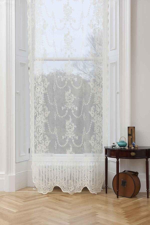 Cotton Lace Curtain-Iona