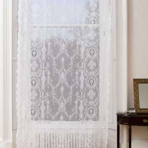 Lucynda Cotton Lace Curtain