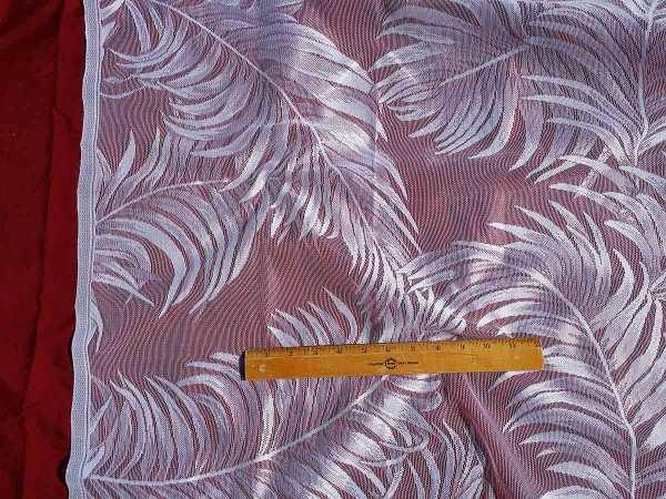Lace Curtain Yardage-Fern