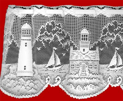 LIGHTHOUSE VALANCE (detail)