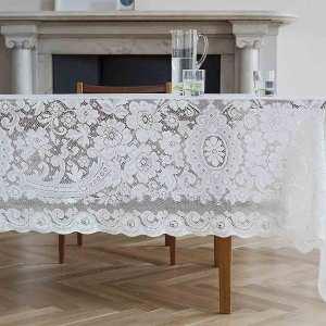 Cotton Lace Tablecloth - Melrose
