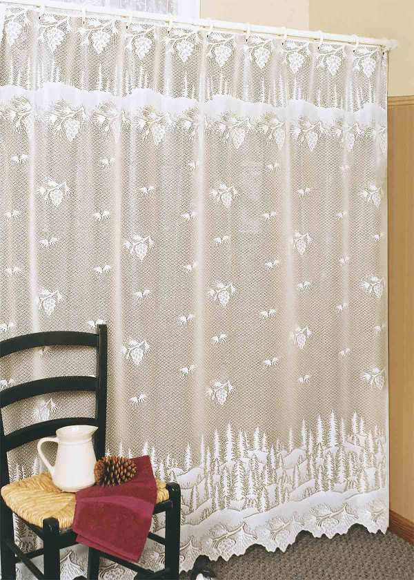 Pinecone Shower Curtains
