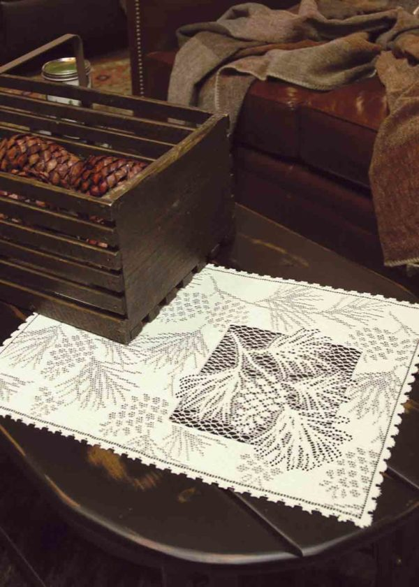 Lace Placemats - Woodland