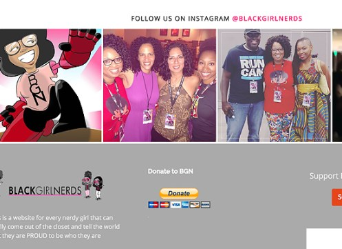 Black Girl Nerds website.