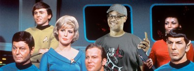 Green screen photo with the Star Trek: Original Series